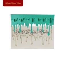 Силиконовая форма для расплавленного крема украшения торта шоколада
