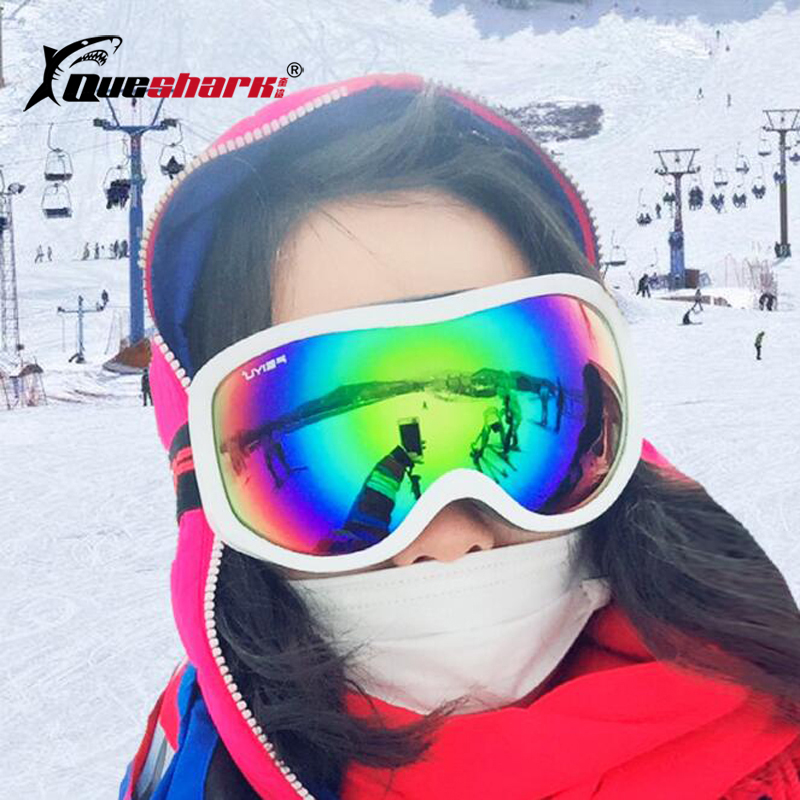 Winter Skiing Glasses Big Frame Ski Mask Anti-fog Windproof Ski Goggles Uv Protection Skating Sunglasses Skiing Eyewear