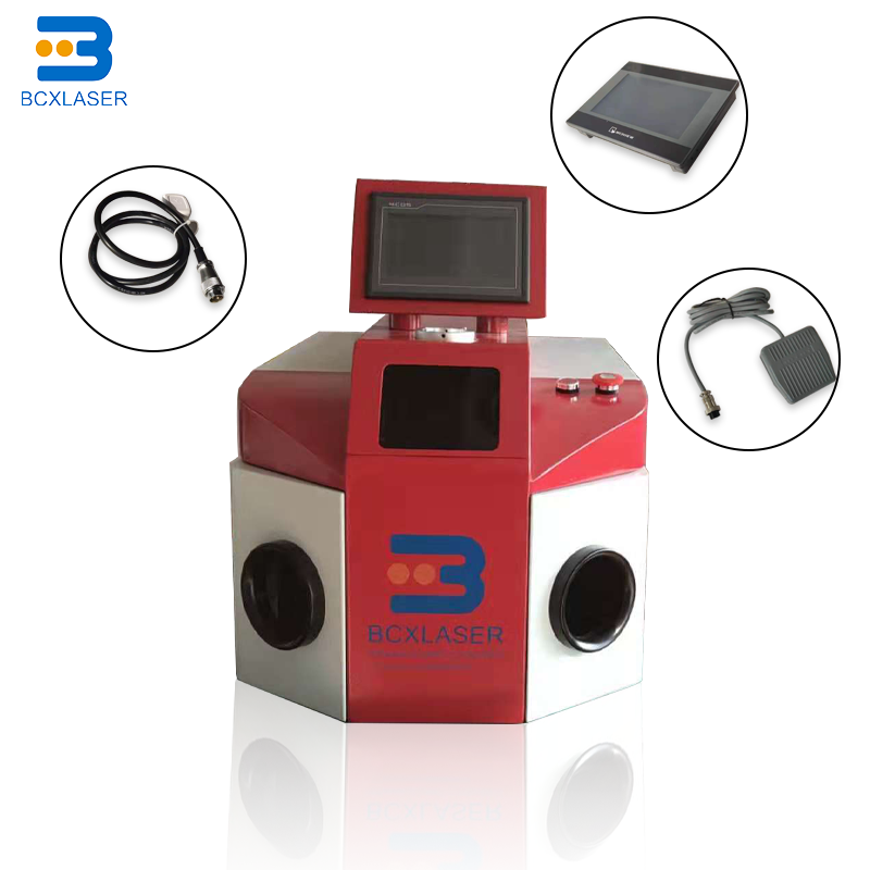 Laser Pulse Welding Machine Mainly For Thin Wall Materials  Precision Parts Of The Soldering