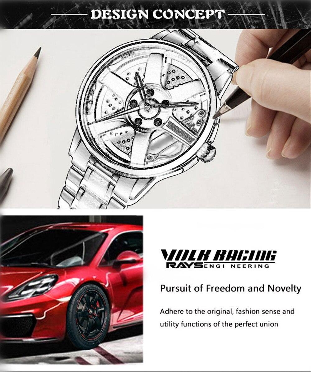 H7c50c534741b487c83d1b90775e53c51f 2020 NIBOSI Wheel Rim Design Sport  Waterproof