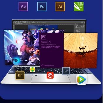Max RAM 36GB Rom 2TB SSD Ultrabook Metal Computer with 2.4G/5.0G Bluetooth Ryzen R7 2700U windows10 Metal portable gaming laptop 3