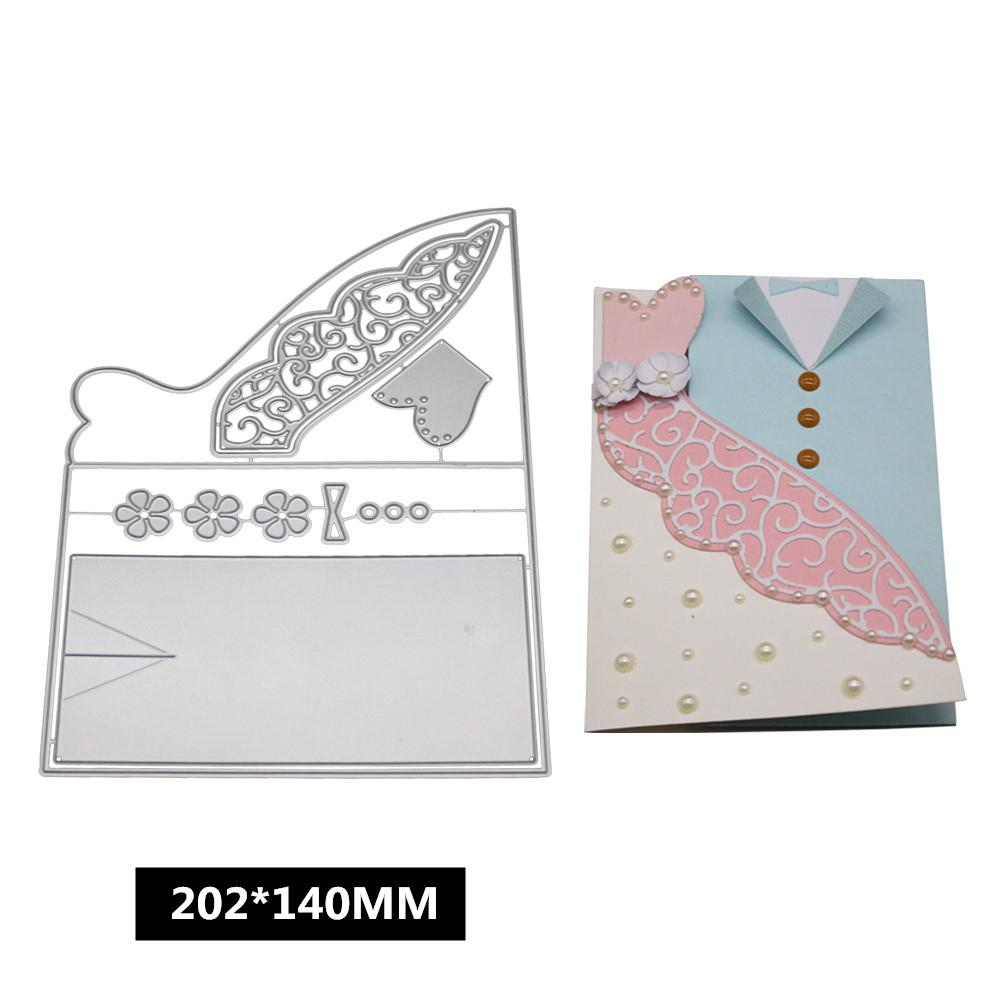 Lace Cutting Dies Stencil Scrapbooking Album Paper Card Embossing Crafts DIY