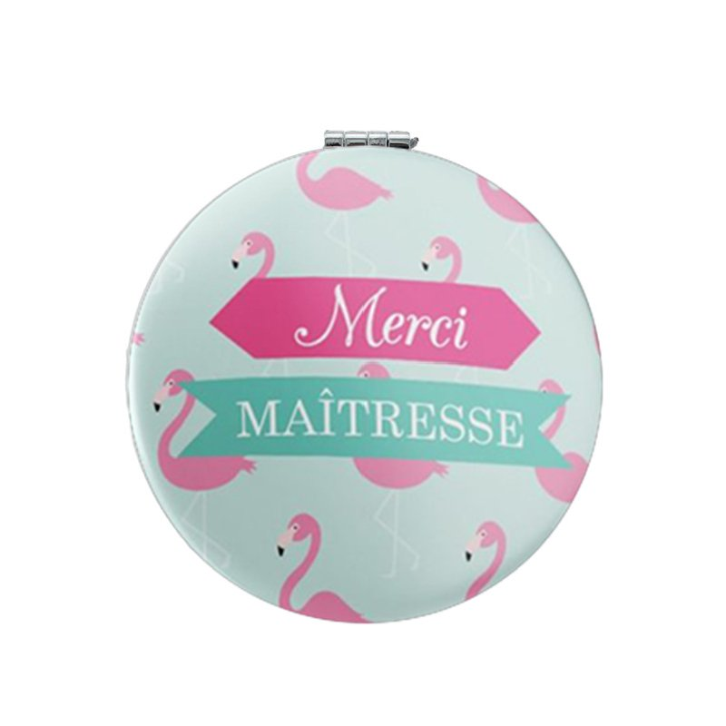 Youhaken new pocket mirror for girls Printing picture Merci Maitresse Beauty Health  Tools Accessories Mirrors MM63