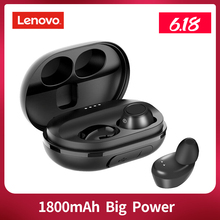 Lenovo S1 auriculares TWS, inalámbricos por Bluetooth, auriculares IPX5 impermeables estéreo con micrófono para música y deportes