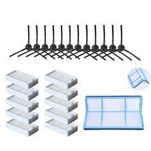 Top Angebote Primäre Staub Filter Seite Pinsel Effiziente Hepa Filter Für Ilife V5 V5S V3 V3S V5Pro V50 V55 X5 v5S Pro Roboter Vakuum Cle