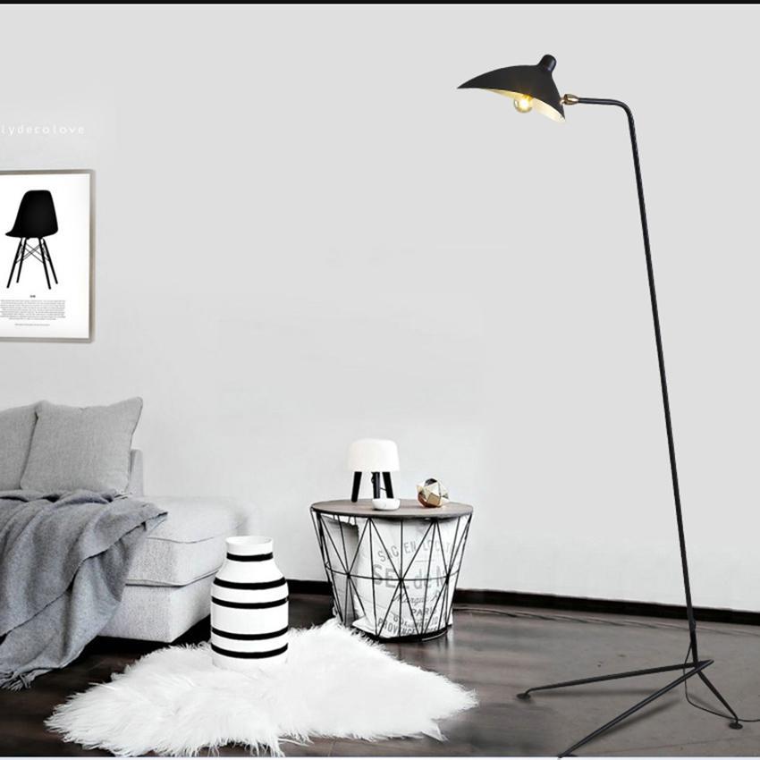 Modern Floor Lamp Living Room Loft Decor Mantis Arm Floor Standing Lamp Nordic Study Industrial Bedroom Dining Room Stand Lamp