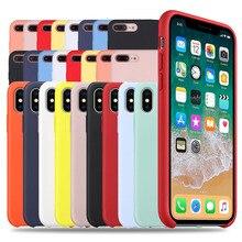 Original Liquid Silicone Case For iPhone