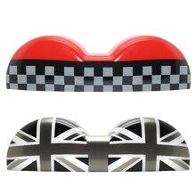 For Mini Cooper 2000 2001 2002 2003 2004 2005 2006 R50 R52 R53 double Tachometer Shell Grey Jack JCW Checker Plastic Union Jack
