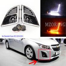 Для Chevrolet Cruze 2013 головной светильник s светодиодный дневные ходовые огни противотуманный светильник s DRL головной светильник противотуманный светильник s Дневной светильник