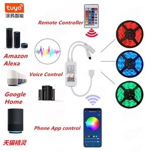 Image 2 - Tuya Nhà Thông Minh Tự Động Hóa Nhà Thông Minh LED Dây Mờ Chống Nước Linh Hoạt RGB Dải Đèn Hoạt Động Với Alexa Google Home