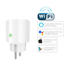 Smart Plug 10A/16A Wifi умная розетка Tuya Smart Life приложение ЕС Wifi вилка работает с Alexa Google Home Mini iftt для Android IOS