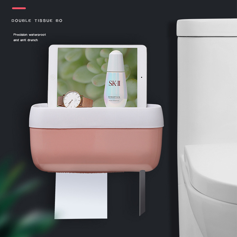 Waterproof Toilet Paper Box Toilet Paper Dispenser Toilet Paper Holder Bathroom Tissue Box Tissue Holder Bathroom Accessories