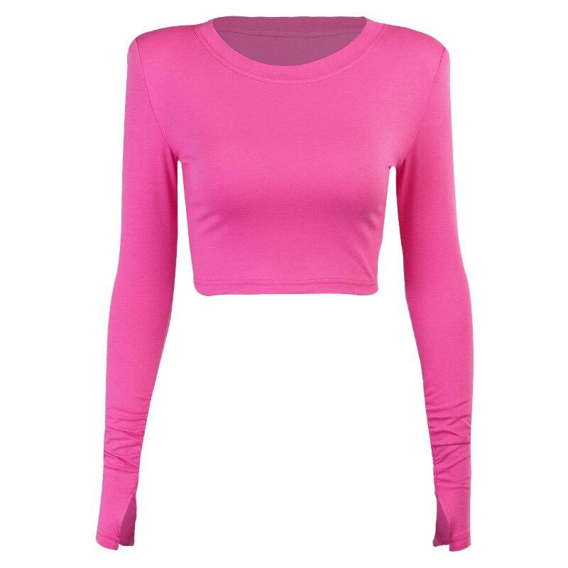Купить женская футболка с длинным рукавом soild вязаная белая 2020
