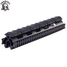 Sinairsoft uma peça tático tri-trilho handguard trilho sistema de montagem escopo para hk g3, 91, PTR-91 e compatibles MNT-TG3TR