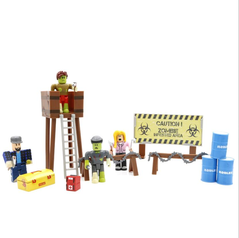 1 Set Robloxes Game Figure Toys Action Figurine Mystery Box