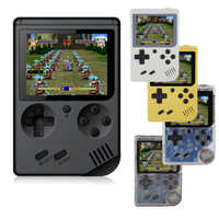RS-6A Children Retro Mini Portable Handheld Game Console Players 3.0 Inch 168/500 Built In Classic-FC Games Handheld Game player