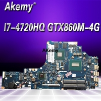 HD LA B111P Laptop motherboard For Lenovo Y50 70 mainboard original I7 4720HQ/4710HQ GTX860M 4G|Motherboards| |  -