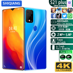 SOYES S21 Plus Mobile Phone Android Smart Unlock Face&Fingerprint 6.7