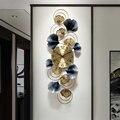 Neue Nordic Luxus Wanduhr Wohnzimmer Hause Schlafzimmer Stumm Uhr Luxus Kreative Kunst Wanduhr Dekorative Uhr DD6WC