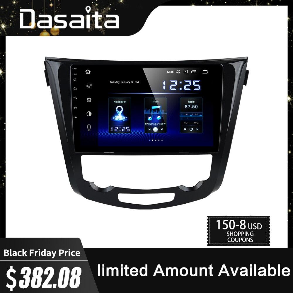 Multimídia Carro Android 9.0 para Nissan Dasaita X-Trail Qashqai j10 j11 Rádio 2014 2015 2016 2017 de Navegação GPS 10.2
