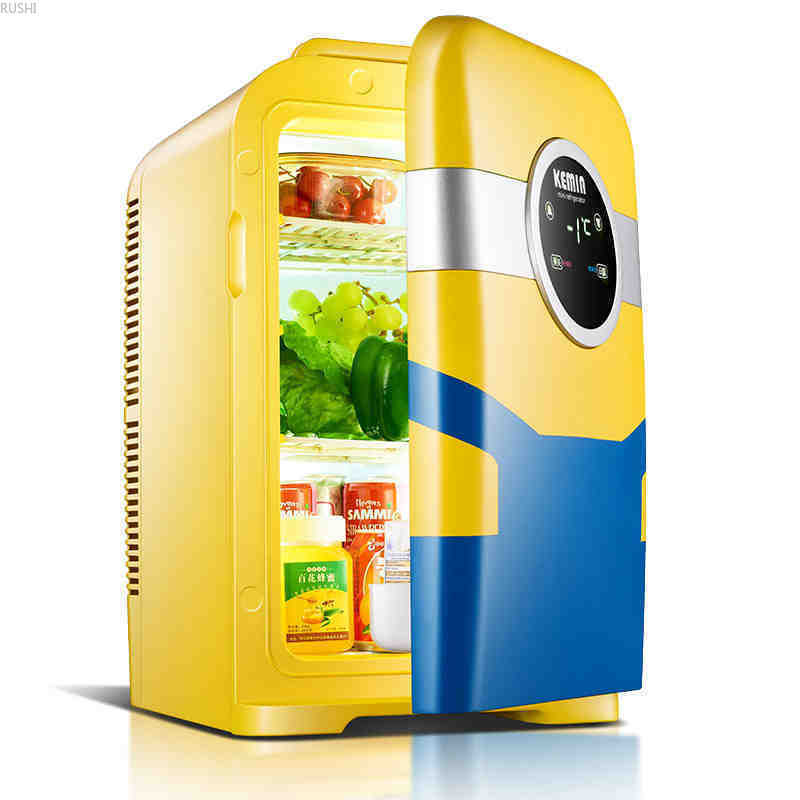 22L Car  Mini - Refrigerator  Cosmetic Refrigeration Miniature. Freezer  Samll Ridge Portable Mini Refrigerator Free Shipping