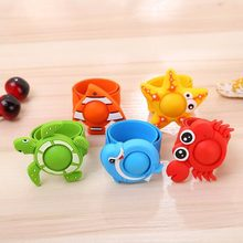 Kids Anti Mosquito Bracelet Baby Cute Anti Mosquito Pest Lnsect Bugs Repellent Repeller Wrist Band Bracelet Silicone Wristband(China)