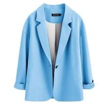 Короткое плечо костюм женщины% 27 пальто корейская версия свободная 2020 весна и осень новинка пригородный костюм куртка весна и осень.