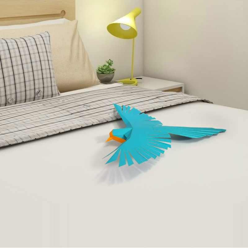 Bird Animal Living Room Book Shelf