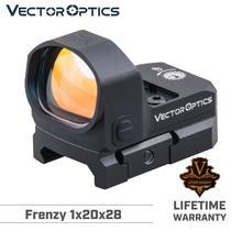 Vektör optik Frenzy 1x20x28 Red Dot kapsam tabanca tabanca Collimater görüş 3MOA IPX6 Fit GLOCK 17 19 9mm AR15 M4 AK av tüfeği 12ga