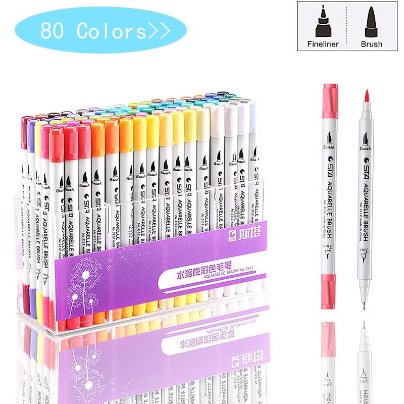 80-colors-single-art-markers-brush-pen-sketch-alcohol-based-markers-dual-head-manga-drawing-pens-art-supplies-random