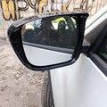 Аксессуары для Nissan Rogue X-Trail T32 2014 2015 2016 2017 2018 ABS углеродное Автомобильное зеркало заднего вида блок дождевая Крышка для бровей отделка