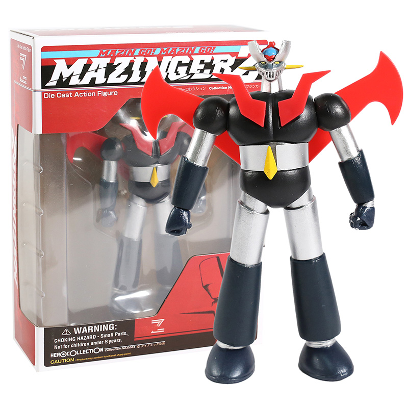 <font><b>Mazinger</b></font> <font><b>Z</b></font> Die Cast Action <font><b>Figure</b></font> Collectible Model Toy image