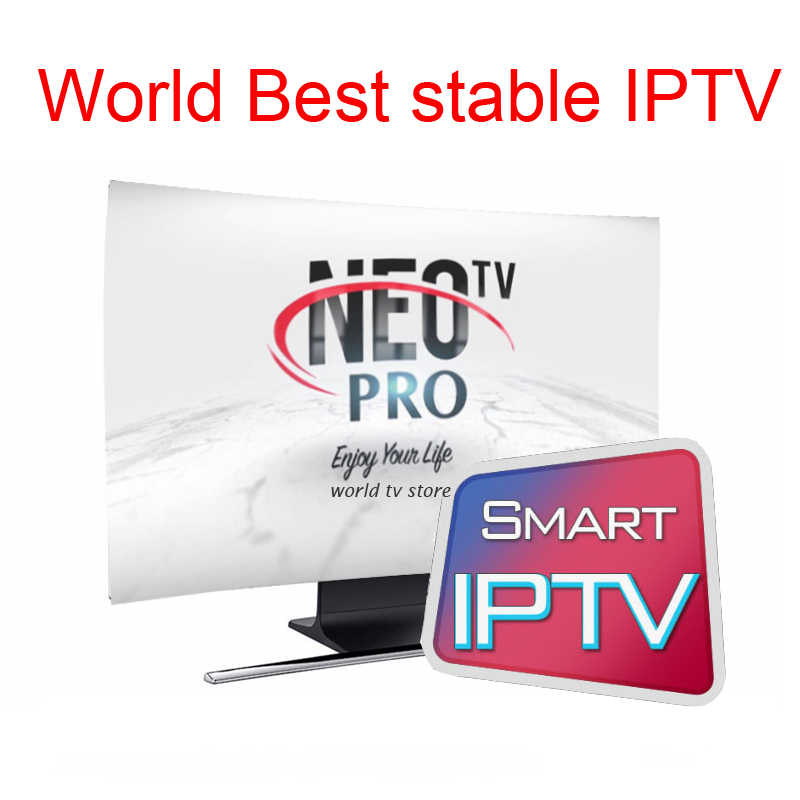 IPTV subscription neotv pro professional italian albania poland latino russia brazil arabic french iptv code 7000 channels