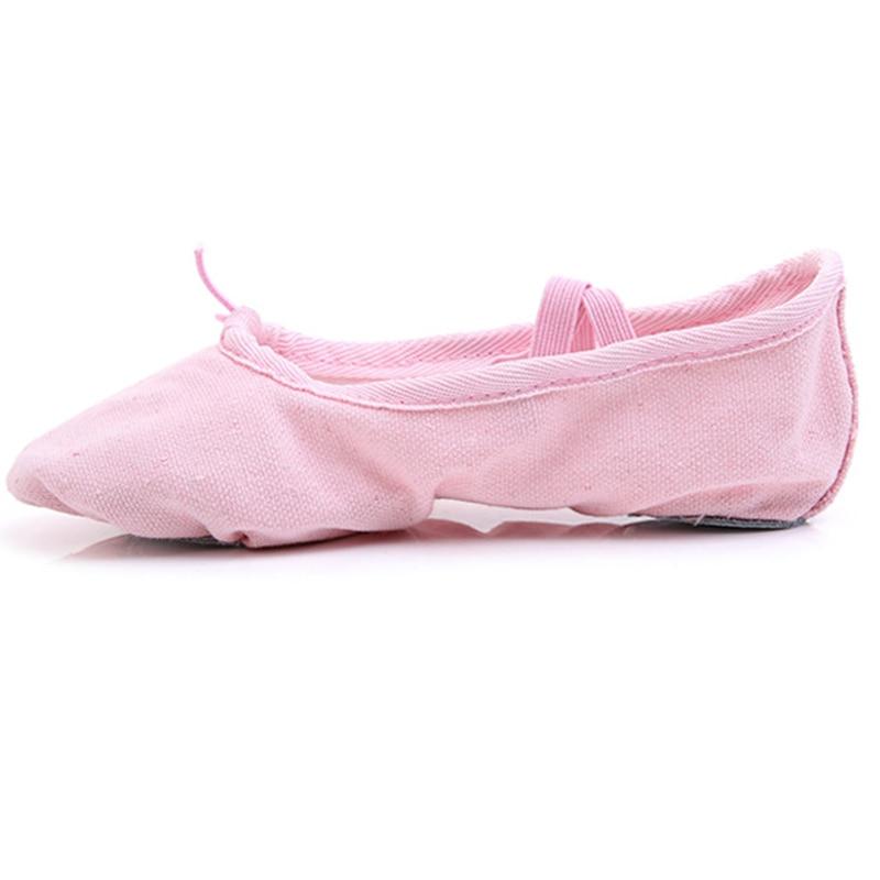 Childrens Adult Canvas Soft Bottom Ballet Shoes Practice Yoga Shoes FJ88