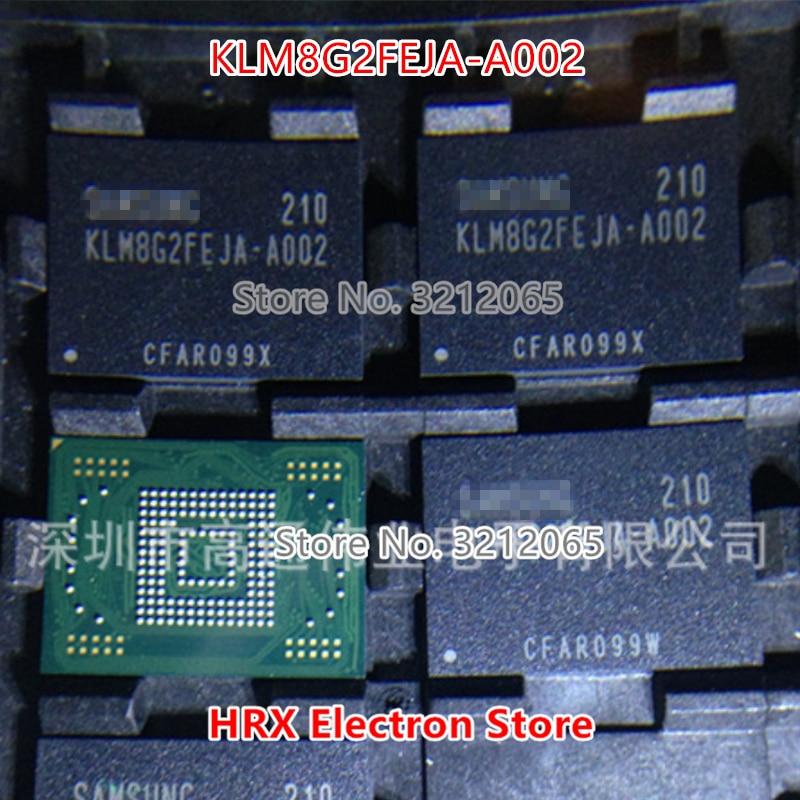 100% Новый оригинальный KLM8G2FEJA-A002 BGA-169 памяти на носителе EMMC KLM8G2FEJA A002 (1-10 шт.)