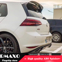 For Volkswagen Golf 7 Spoiler 2011 2013 mk7 Glof 7.5 TIS CSK High Quality ABS Material Car Rear Wing Primer Color Rear Spoiler