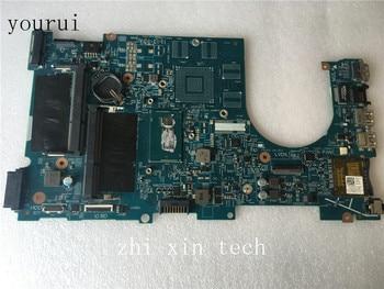 Yourui Voor Dell inspiron 17 7737 Laptop moederbord D0H70 12309-1 PWB F53D4 moederbord met i5-4210u CPU Test werk perfect