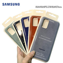 100% Original for Alcantara Case cover for Samsung Galaxy S20 S20 PLUS S20 Ultra 5G leather luxury premium Case Anti Fall