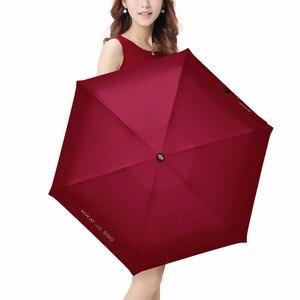 Image 3 - OLYCAT Colorful Mini Umbrella Rain Women Five Folding Sun Umbrella Kids Anti UV Travel Parasol Windproof Pocket Clear Umbrella