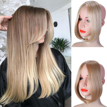 Synthetic-Wig-Clip Hair-Extensions Front-Bangs Fringed Women's for On-The-Side Daily