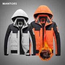 Winter Cargo Jackets Sports Men Parkas Outdoors Waterproof Parka Coat 2020 Warm Thick Windbreakers Men Plus Size Jacket 5XL 6XL