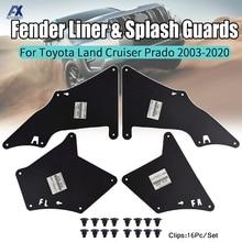 Guardabarros para Toyota Land Cruiser Prado 03 20 Splash guardias protector de guardabarros camisas escudo sello 5388635020, 5373535150 de 5373635150