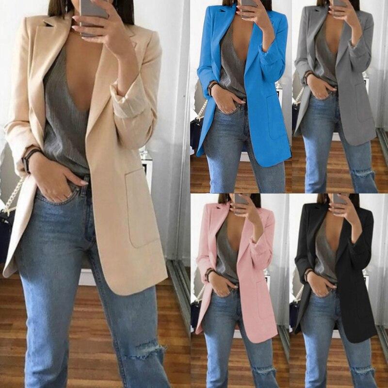 New Women Casual Slim Business Blazer Suit Female Coat Jacket Outwear For Office VN 68