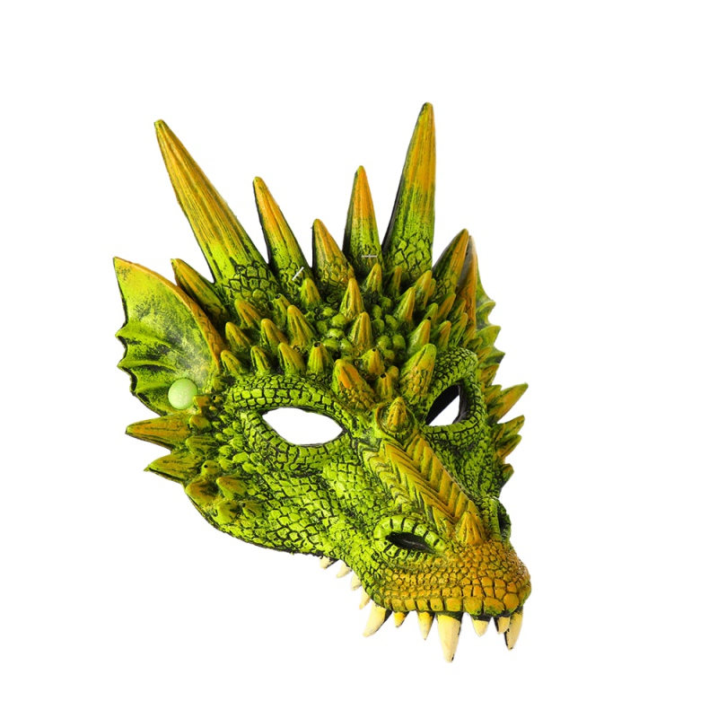 Halloween Kids Dinosaur Cosplay Decoration Set Wings Tail and Mask Dinosaur Costume For Children Carnival Party Masks in Party DIY Decorations from Home Garden