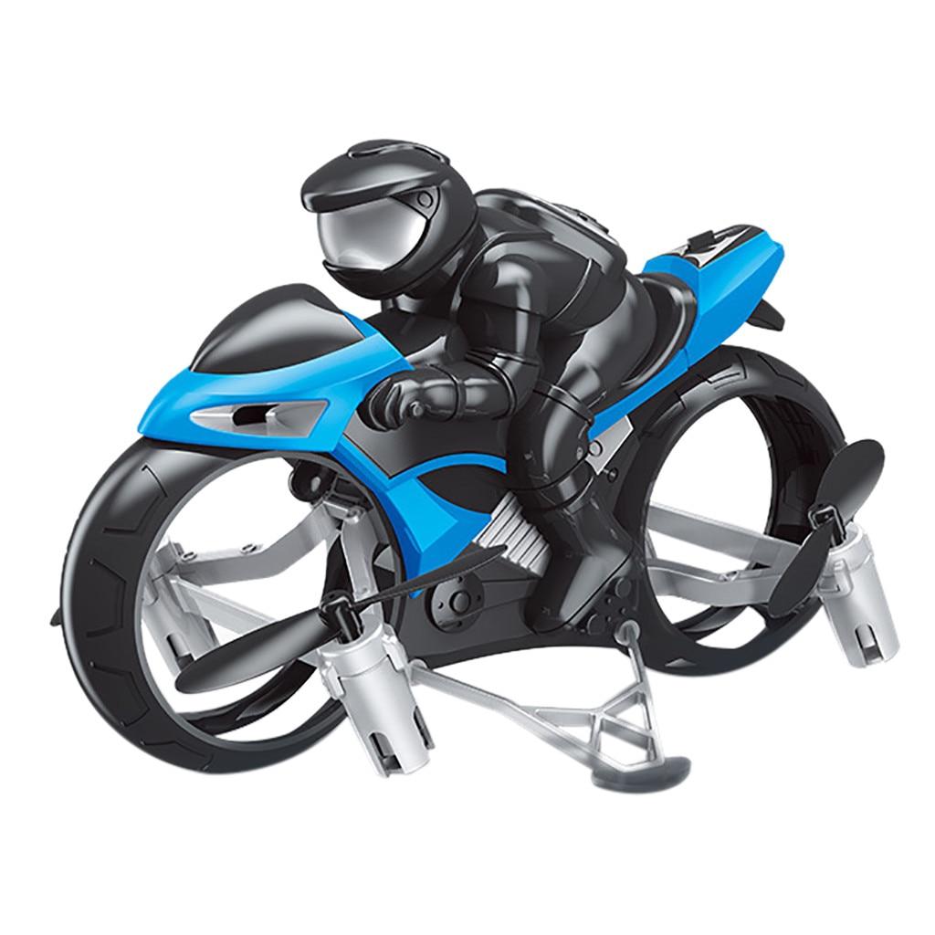 S73 2,4g 4ch 2 в 1 Летающий мотоцикл Безголовый пульт дистанционного управления четырехосный Дрон режим Гоночные Игрушки в форме мотоциклов для детей Juguetes