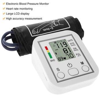 Tonometer Arm Automatic Blood Pressure Monitor BP Sphygmomanometer Pressure Meter Tonometer for Measuring Arterial Pressure 1