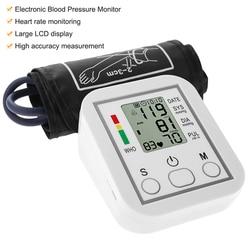 Tonometer Arm Automatic Blood Pressure Monitor BP Sphygmomanometer Pressure Meter Tonometer for Measuring Arterial Pressure