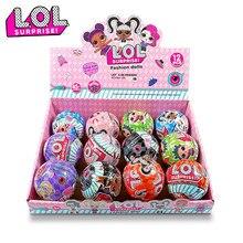 Bonecas lol surpresa aleatória, brinquedos de ação para meninas, presentes de natal, 1 peça