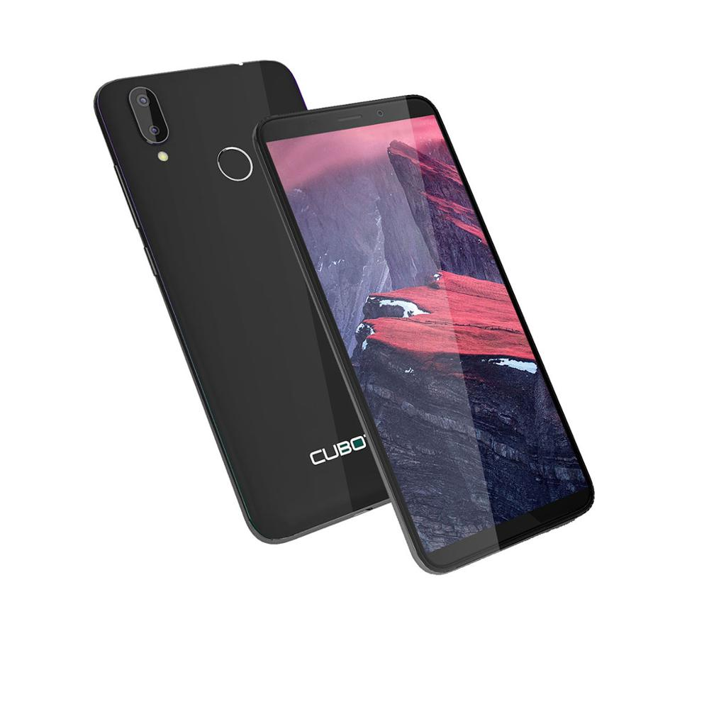 Cubot J7, 5,7 дюймов, 18:9 экран, Android 9,0, смартфон, MT6580, четыре ядра, 2800 мАч, для распознавания лица, отпечатков пальцев, две sim карты, мобильный телефон - 5