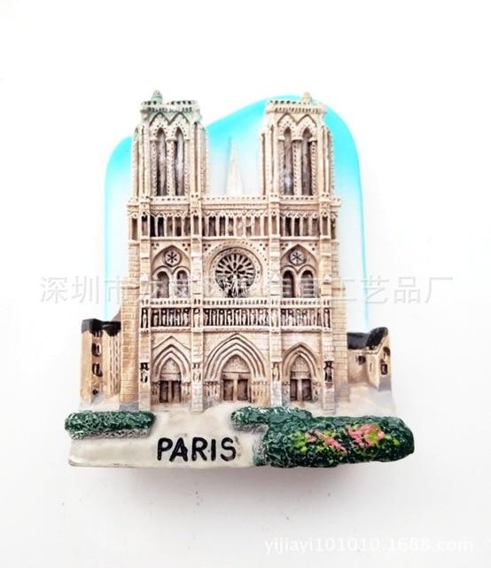 3D Resin Fridge Magnets Italy Berlin France Paris London Switerland Tourism Souvenir Magnetic Refrigerator Stickers Home Decor 5
